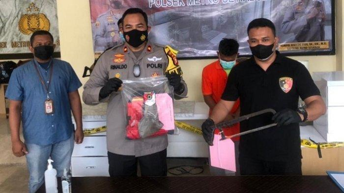 Polisi Ringkus Maling Besi Tiang Pilar Bekas Proyek Monorel, Pelaku Diancam 7 Tahun Penjara