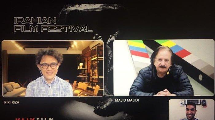 Sutradara Majid Majidi Bocorkan Pesan Film-filmnya di Iranian Film Festival yang Tayang di Klik Film