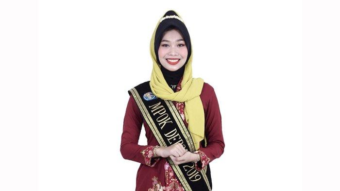 Risya Cahya Fadhila, Sarjana Teknik Metalurgi Material yang Jadi Mpok Depok 2019