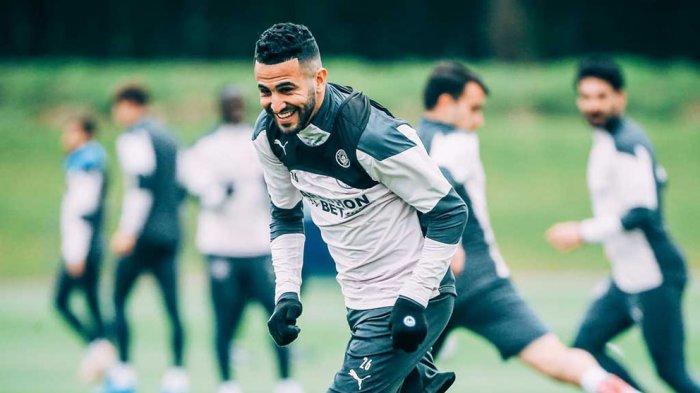 Riyad Mahrez Winger Manchester City Bilang Laga Semifinal Lawan PSG adalah Impiannya