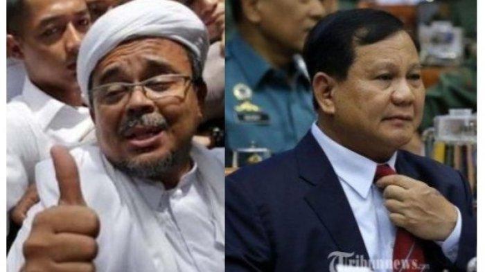POLEMIK Rizieq Shihab Dicekal, Prabowo Subianto Turun Tangan, Begini Penjelasan Juru Bicara Menhan
