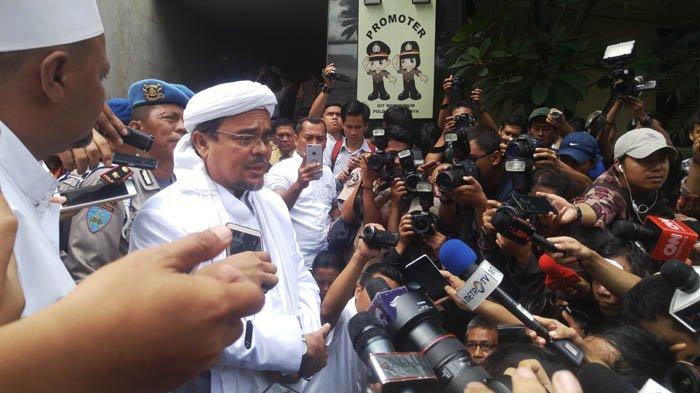 Rizieq Shihab Ogah Pulang Sampai Jokowi Tak Jadi Presiden Lagi