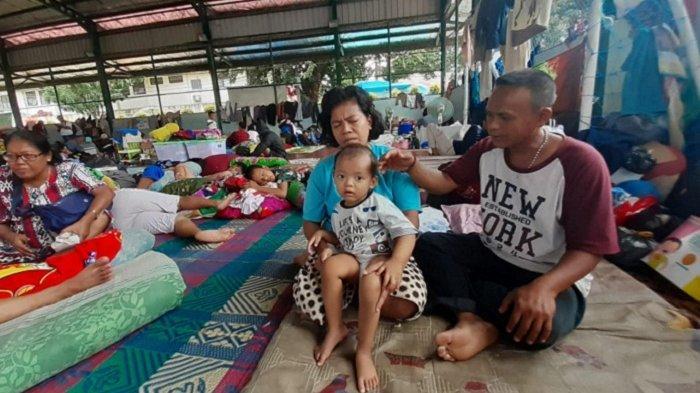 Rizki Ramadhan, Balita Korban Banjir Kota TangerangIni Sempat Alami Kejang-Kejang di GOR Periuk