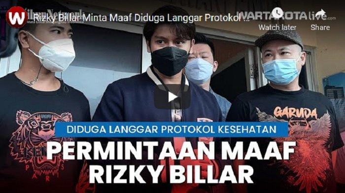 VIDEO Rizky Billar Minta Maaf Diduga Langgar Protokol Kesehatan Saat Buka Cabang Usaha Kulinernya