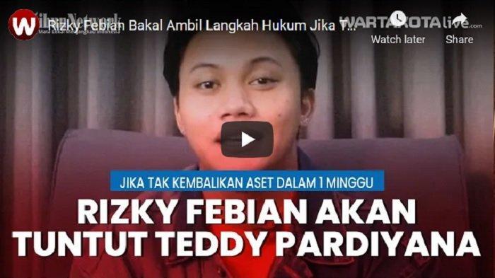 VIDEO Rizky Febian Kasih Waktu Teddy Pardiyana Satu Minggu untuk Kembalikan Aset Miliknya