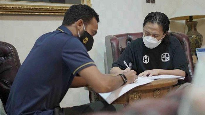 Rizky Rizaldi Pora Kapten Tim Barito Putera Diperpanjang Selama 3 Tahun Lagi Bersama Laskar Antasari