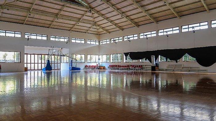 Hall Basket di Robinson Cisarua Resort yang akan dijadikan tempat berlangsung IBL 2021 dengan protokol kesehatan yang ketat