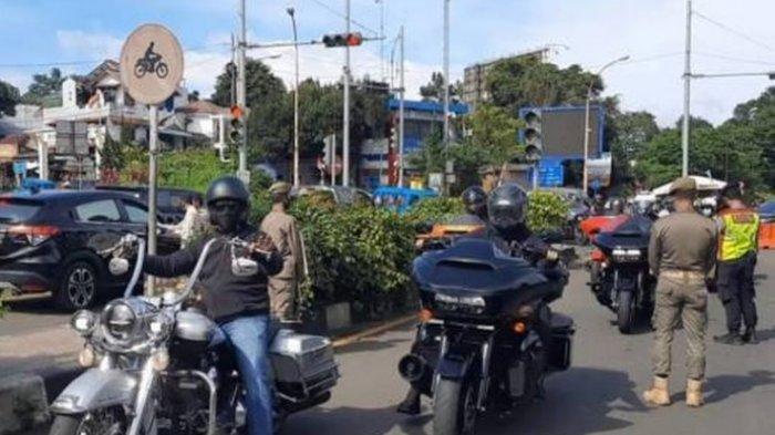 Viral Moge Terobos Aturan Ganjil Genap di Bogor, 3 Pengendaranya Didenda Rp 250.000 Per Orang