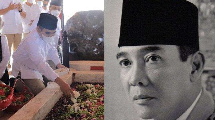 Hari Lahir Pancasila, Partai Gerindra Ziarah ke Makam Bung Karno, Ahmad Muzani Ungkap Pesan Soekarno