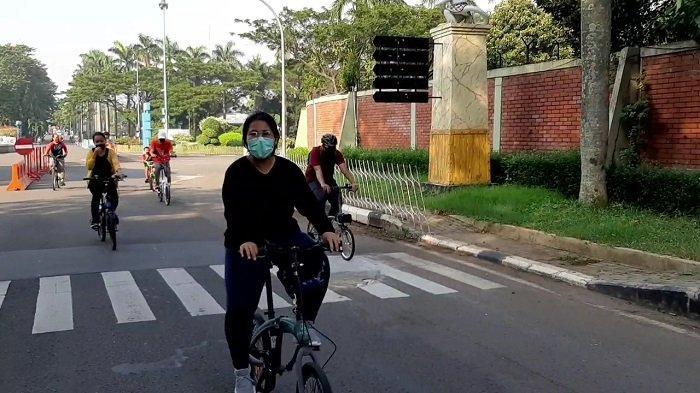 Dibuka Hari Ini, Rombongan Pesepeda Serbu Taman Mini Indonesia Indah
