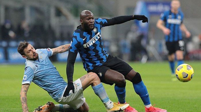 Romelu Lukaku saat tampil menghadapi Lazio di Serie A