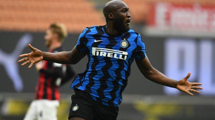 Romr=elu Lukaku juga menyumbang satu gol buat kemenangan Inter Milan atas AC Milan