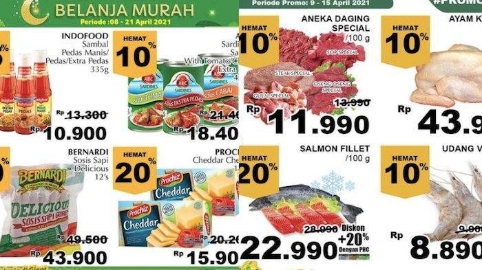 PROMO Giant Kebutuhan Ramadhan 10-15 April Diskon Sampai 40 Persen dari Sirup, Buah, Kurma