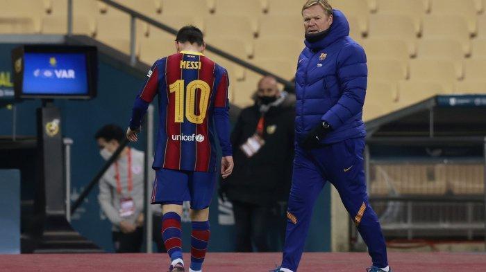 Ronald Koeman Tersinggung dengan Angel Di Maria yang Merayu Lionel Messi untuk Tinggalkan Barcelona