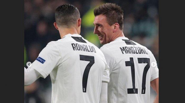 Mario Mandzukic Dipilih Jadi Tandem Utama Cristiano Ronaldo, Wonder Kid Moise Kean Ditendang