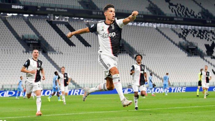 Kalahlah Lazio 2-1, Juventus Kokoh di Puncak Klasemen, Ronaldo Pencetak Gol Terbanyak Samai Immobile