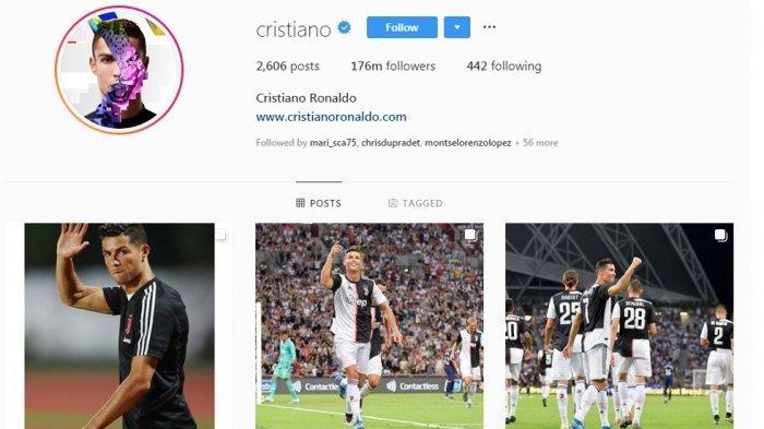 Daftar Olahragawan Terkaya di Instagram, Ronaldo dan Neymar Kalahkan Lionel Messi