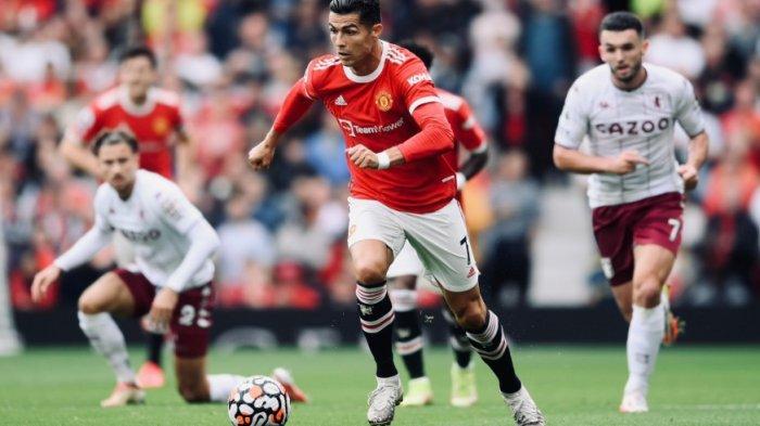 Meski Main Dominan, Manchester United Gagal Kalahkan Aston Villa di Babak Pertama, Ronaldo Frustasi?