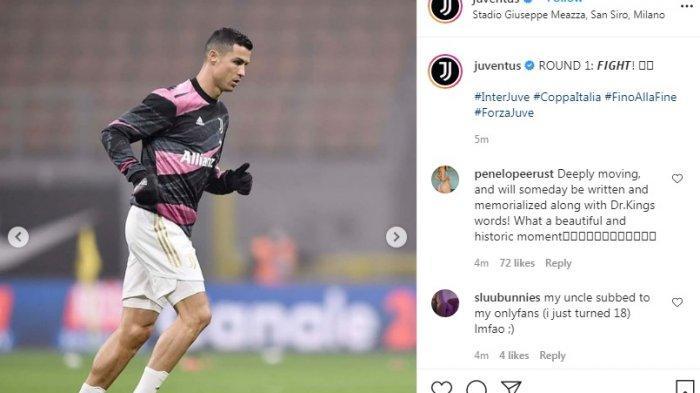 Sedang Berlangsung Live Streaming Inter Milan vs Juventus 1-0, Gol Lautaro Martinez Umpan Barella