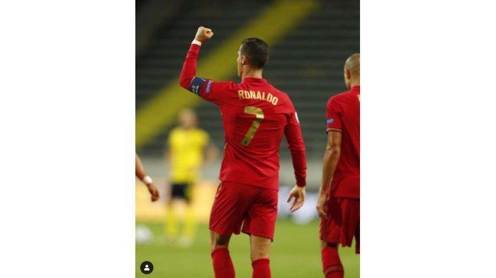 Hasil UEFA Nations League, Rabu 9 September, Ronaldo Cetak Gol ke-100, Belgia & Perancis Pesta Gol