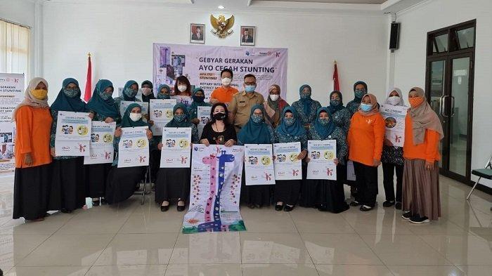 Rotary Club Jakarta Sunter Centennial Gelar Gerakan Ayo Cegah Stunting di Cijeruk, Bogor