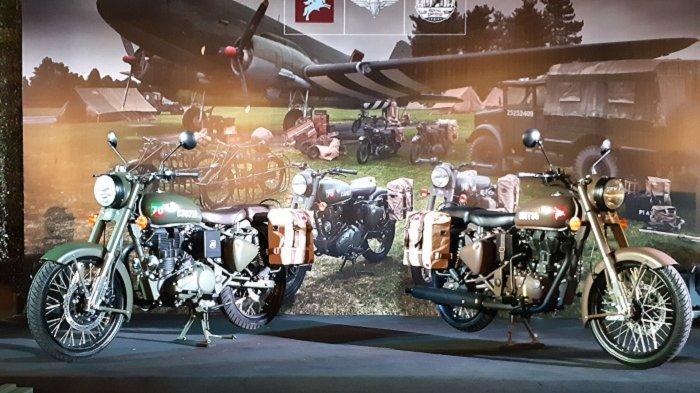 Terinspirasi Motor Perang PD I, Royal Enfield Classic 500 Pegasus Cuma Ada 40 Unit di Indonesia