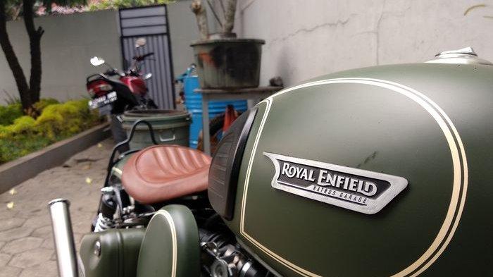 Modifikasi Royal Enfield Milik Gibran Harus Direvisi, Jok Motor Mentok Spakbor Belakang