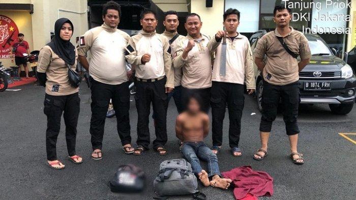 Pria yang Menodong Sopir Truk dengan Pedang dan Bawa Kabur Uang Rp 3 juta Berhasil Dibekuk Polisi