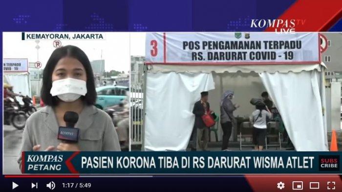 UPDATE 274 Pasien di RS Darurat Covid-19 Wisma Atlet Kondisi Baik, Bisa Saja Pulang Sebelum 14 Hari