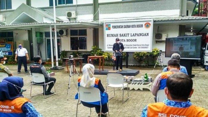 Rumah Sakit Lapangan Kota Bogor Miliki 68 Tempat Tidur, 70 Persen Pasien Covid-19 Warga Kota Bogor