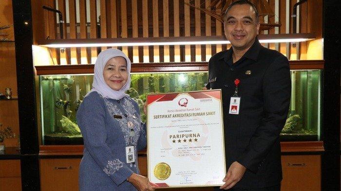 RSUD Kabupaten Tangerang Raih Penghargaan Tertinggi dalam Melayani Pasien