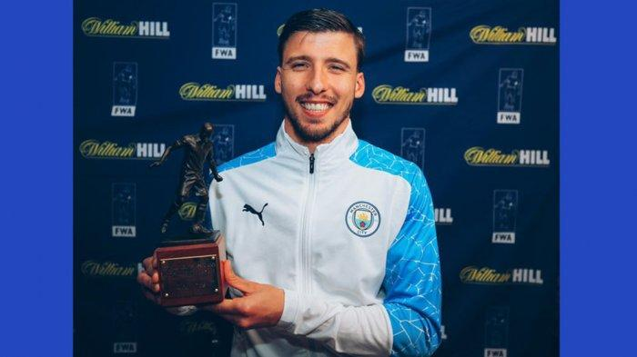 Ruben Dias Bek Manchester City Terpilih Menjadi FWA Footballer of The Year Musim 2020/2021