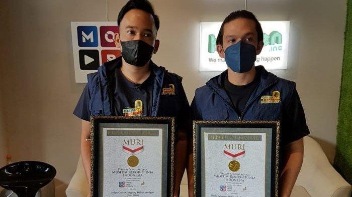 Ruben Onsu dan Jordi Onsu Terima Penghargaan MURI, Untold Story Jadi Pelopor Live Streaming Horor