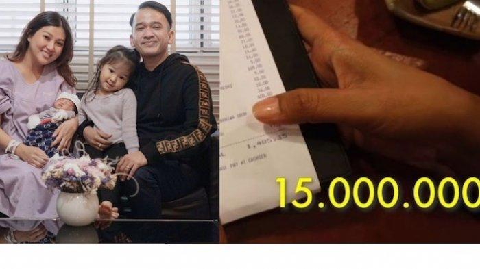 Makan di Singapura, Ruben Onsu Kaget Dapat Tagihan Rp 16 Juta, Dikira Murah ya Bang