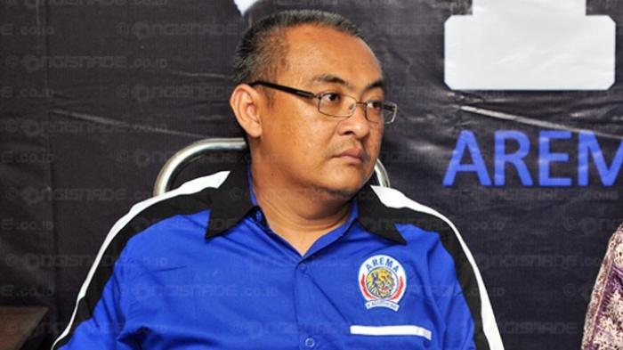 General Manajer Arema FC, Ruddy Widodo, Bungkam Pelatih Baru Singo Edan