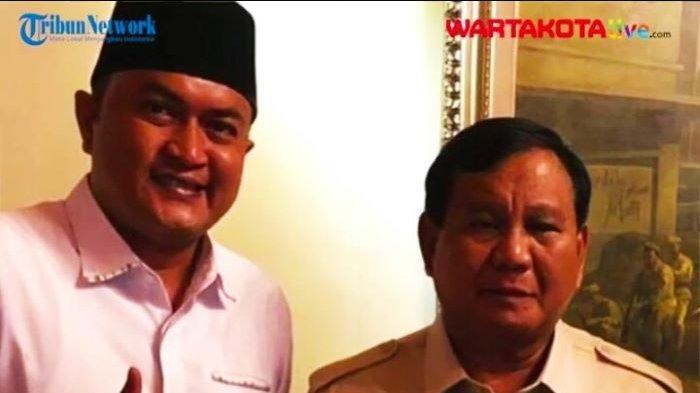 Rudy Susmanto bersama Ketua Umum DPP Partai Gerindra