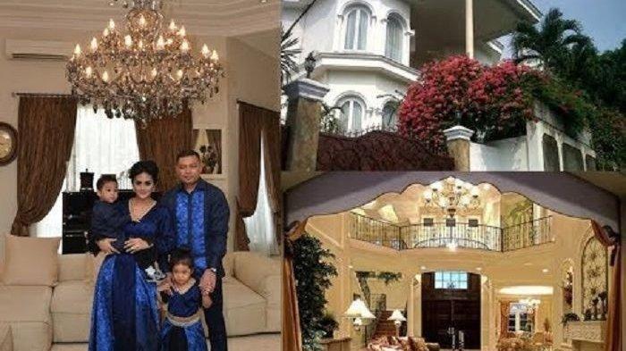 Ini Rumah Mewah Milik Krisdayanti dan Raul Lemos yang Siap Tampung Aurel dan Azriel