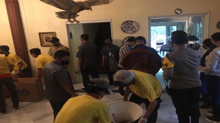 Rumah Pahlawan Nasional Mohammad Yamin Dieksekusi Juru Sita PN Jakarta Pusat