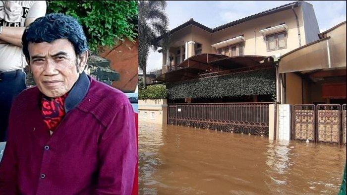 Rumah Mewahnya Dikepung Banjir, Raja Dangdut Rhoma Irama Selamatkan Diri 'Mengungsi' di Lokasi Aman