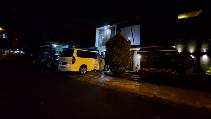 Rumah duka Rina Gunawan berada di Jalan Taman Tampaksiring VI, kawasan Sentul City, Kabupaten Bogor, Jawa Barat, Selasa (2/3/2021) malam.