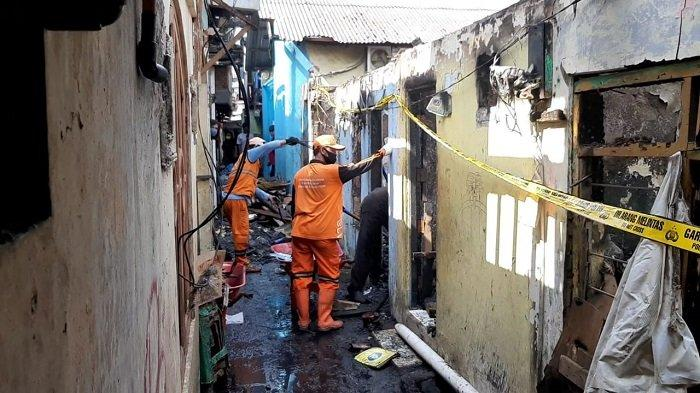 Satu Korban Kebakaran di Tanjung Priok Positif Covid-19, 11 Warga Lainnya Langsung Isolasi Mandiri