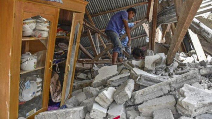 Jumlah Korban Meninggal Akibat Gempa Lombok Kembali Bertambah Menjadi 14 Orang