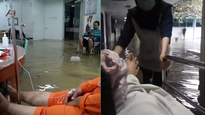 Hotman Paris Kecewa Jakarta Kebanjiran Lagi, Posting Video Pasien Kebanjiran di Rumah Sakit