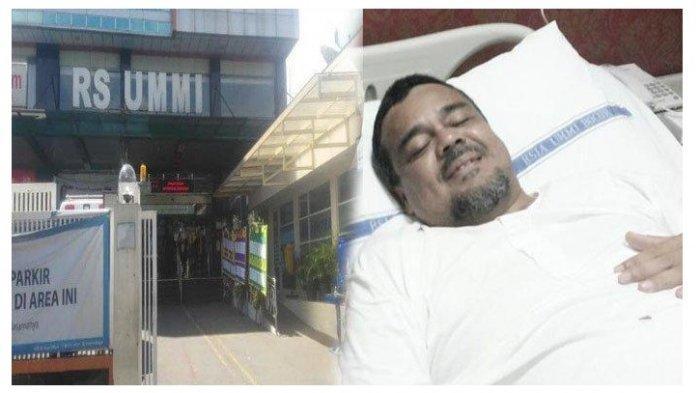 Benarkah Habib Rizieq Kabur dari RS Ummi Bogor? Begini Penjelasan Dirut Rumah Sakit