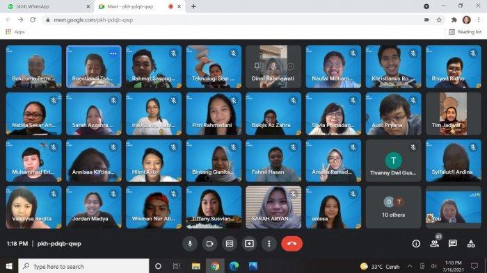 Siasati PPKM, Kreatifitas Rumah Siap Kerja Gandeng Usaha Kuliner Dalam Lunch Meeting Online