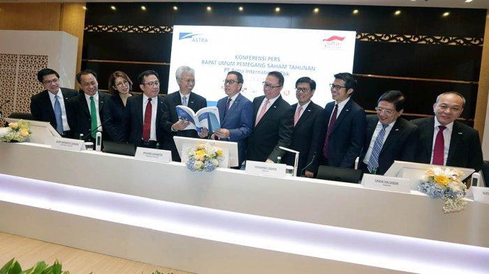 FOTO : PT Astra International Bagikan Rp 8,6 Triliun Untuk Pemegang Saham