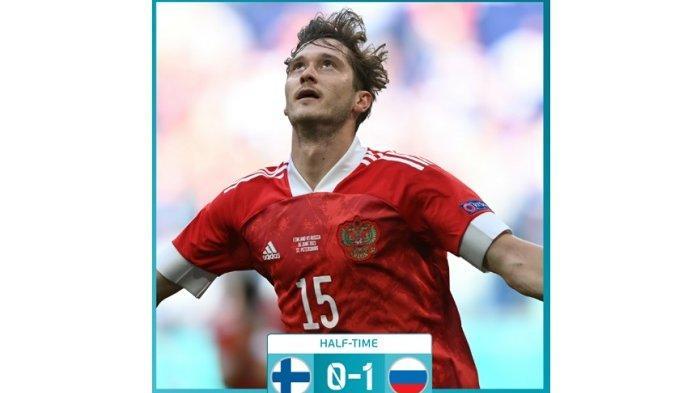 Babak Pertama Finlandia vs Rusia 0-1: Berkat Aleksi Miranchuk Jadikan Rusia Unggul untuk Sementara