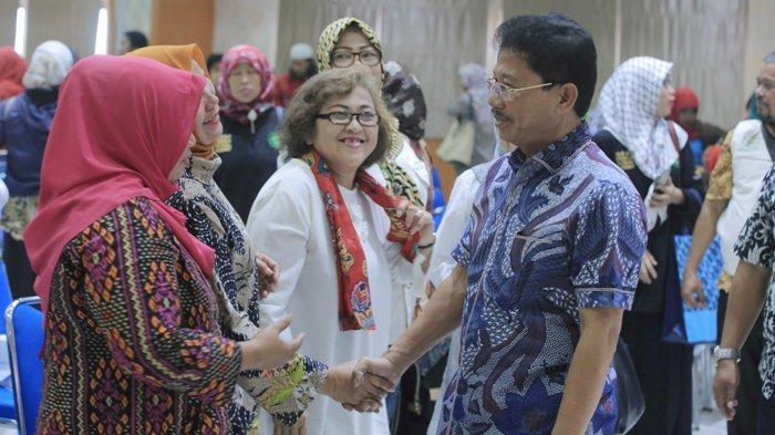 Pengelola Bantuan Pangan Non Tunai di Tangerang Sasar 49328 Keluarga