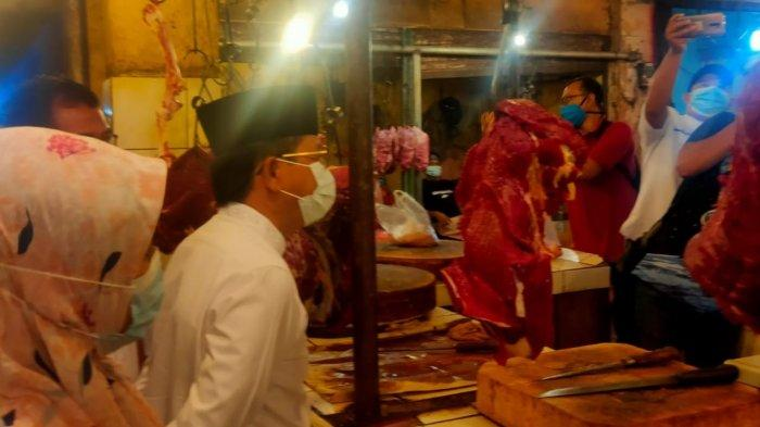 Wakil Wali Kota Tangerang Sachrudin Pantau Perkembangan Harga Kebutuhan Pokok Jelang Ramadan 2021