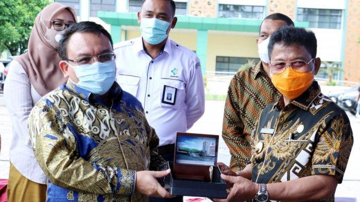 Sachrudin Sampaikan Progres Penanganan Covid-19 Kota Tangerang Kepada Anggota DPR